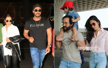 Preggers Kareena Kapoor Khan-Taimur And Malaika Arora Fly Off To Join Saif Ali Khan-Arjun Kapoor In Himachal Pradesh For Diwali Celebrations