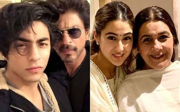Aryan Khan To Sara Ali Khan: Uncanny Resemblance Of The Star Kids With Their Celebrity Parents