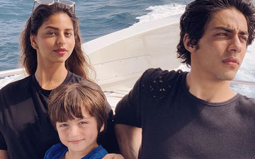 Aryan Khan, Suhana Khan And AbRam Are Gauri Khan's 'Three Little' As The Trio Make For A Perfect Picture