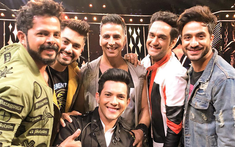 Khatron Ke Khiladi 9, Finale Pictures: Sreesanth, Vikas Gupta, Aditya Narayan, Zain Imam Shoot With Akshay Kumar
