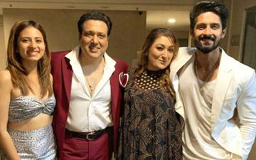 "Sargun Mehta And Ravi Dubey Show ""infinite Love And Respect"" For Govinda And Family"