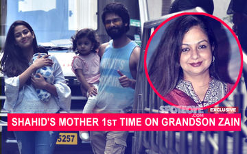 Shahid Kapoor's Mom Neelima Azim On Zain: I Had A Feeling That It Will Be A Boy This Time, Had Seen Him In A Dream
