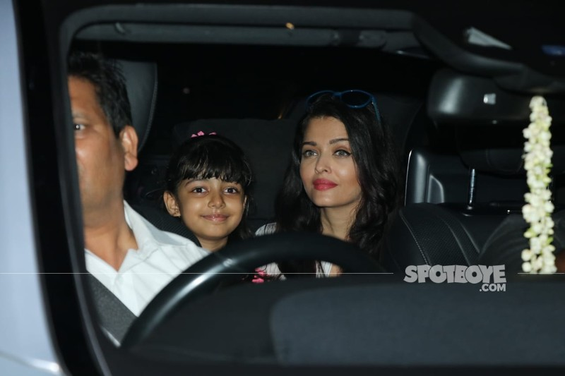 Aishwarya Rai Bachchan and Aaradhya