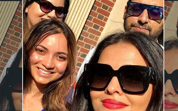 Abhishek Bachchan And Aishwarya Rai Indulge Their Fans As They Pose For A Sun-Kissed Selfie In New York