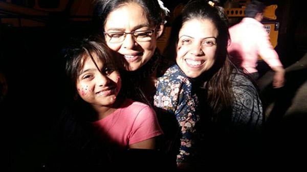 reema lagoo naamkaran co-star ashreen namdaar during a party together