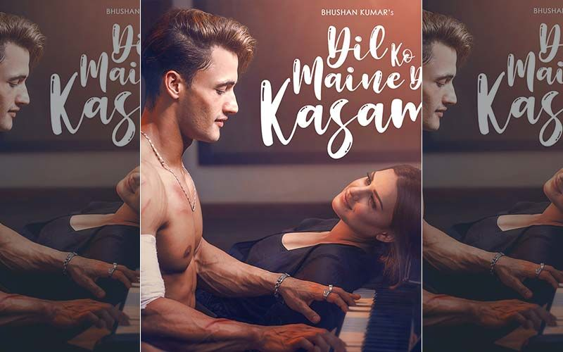 First Look Of Asim Riaz- Himanshi Khurana's Song With Arijit Singh 'Dil Ko Maine Di Kasam' Is OUT; AsiManshi Fans Can't Keep Calm