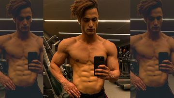 Bigg Boss 13's Asim Riaz Tees-Up To Flaunt His Chiseled Body And Abs; Fans Go Gaga, 'Haye Hero' – PIC