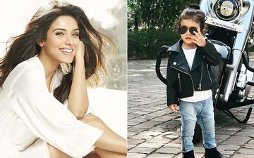 Asin Thottumkal's 18-Month-Old Daughter Arin Dons The Biker Baby Avatar- VIEW Pics