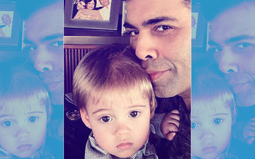 Karan Johar Teaches Little Yash Table Manners – Heart Melting Picture Alert!
