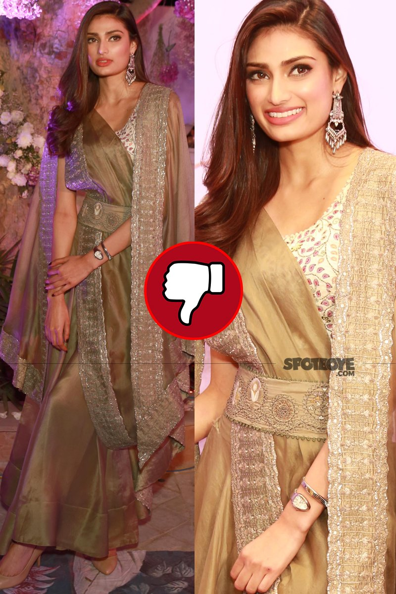 athiya shetty at the launch of aza