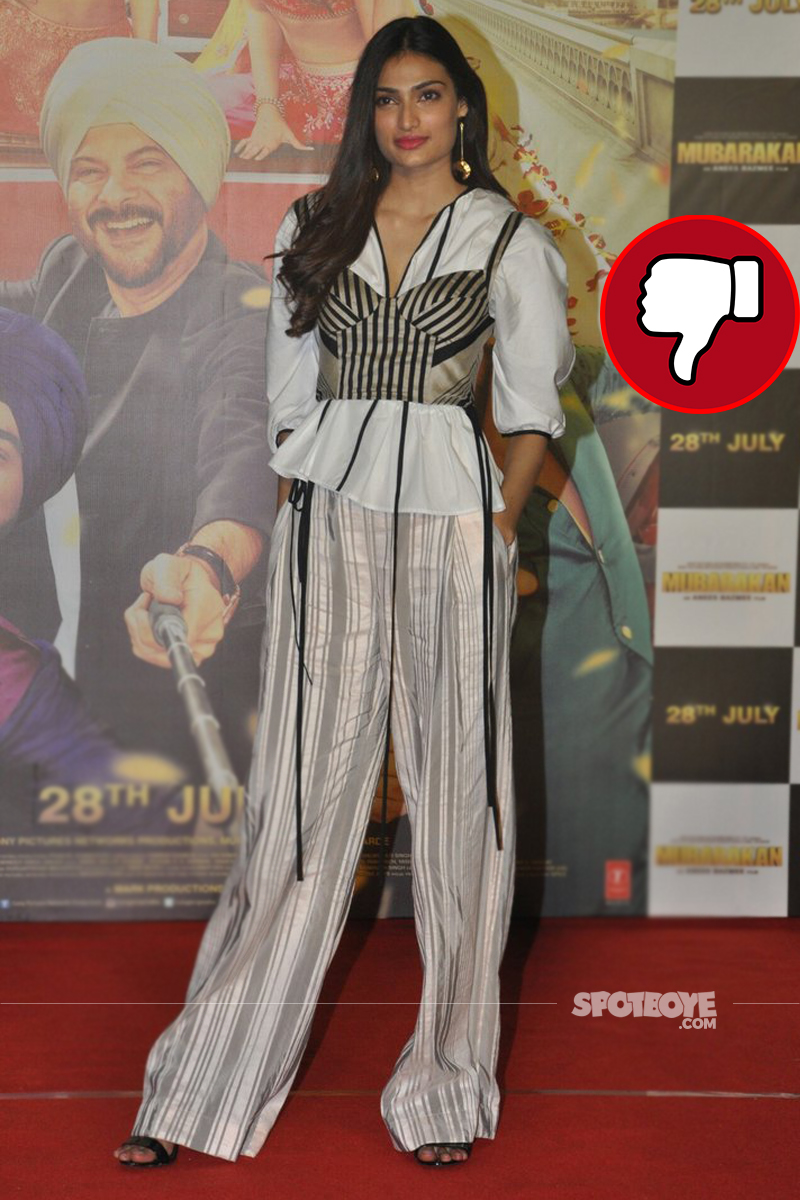 athiya shetty mubarakan trailer launch