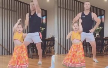 Aussie Cricketer David Warner Dances To 'Sheila Ki Jawaani' With Daughter Indi; Fans Say He Has Better Moves Than Katrina Kaif-WATCH