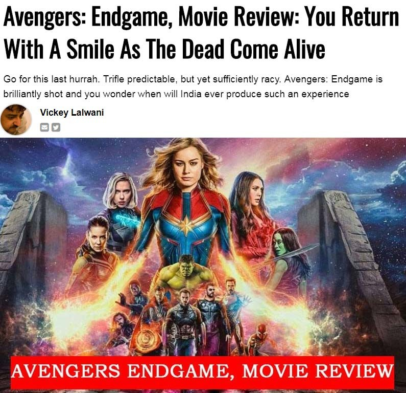 avengers review
