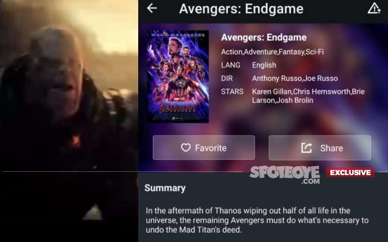 Shocking! Avengers: Endgame Leaked Online 2 Days Before Release