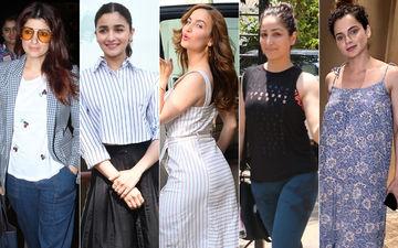 STUNNER OR BUMMER: Twinkle Khanna, Alia Bhatt, Elli AvrRam, Yami Gautam Or Kangana Ranaut?