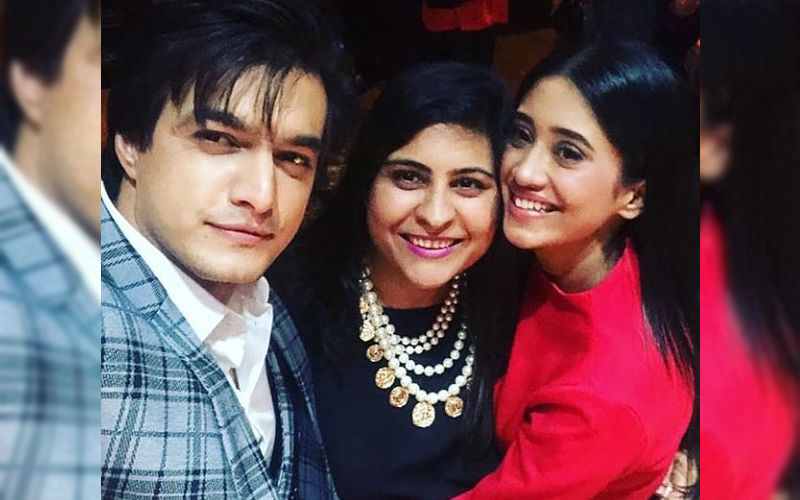 Yeh Rishta Kya Kehlata Hai Completes 10 Years: Shivangi Joshi And Mohsin Khan Party Hard-Watch Videos