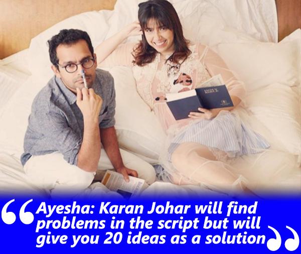 ayesha devitre spotboye salaam interview with khalid mohamed talking about karan johar