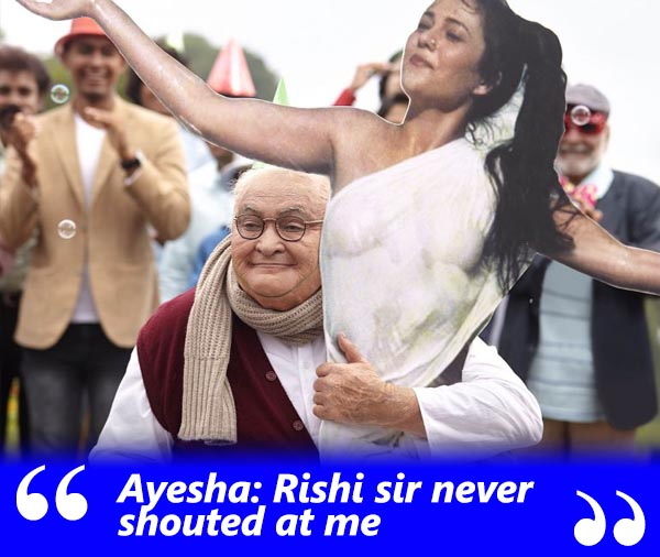 ayesha devitre spotboye salaam exclusive interview with khalid mohamed talking about rishi kapoor and his behaviour on sets