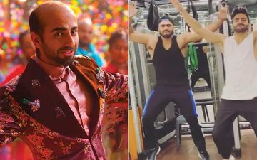 Ayushmann Khurrana's Don't Be Shy Challenge: Arjun Kapoor And Aparshakti Khurrana Break Into A Groove Mid-Workout; Nail It