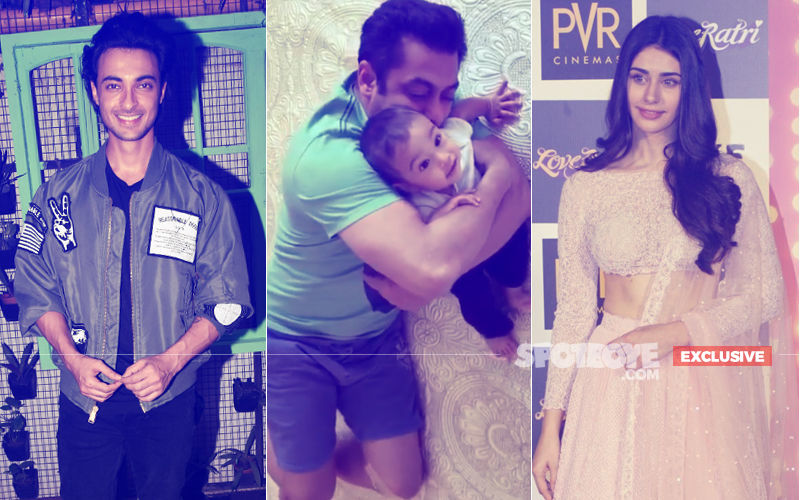Aayush Sharma On Son Ahil: He Carries A Tag Of Being Salman Khan's Nephew. Loveratri Actress Warina Hussain Joins In