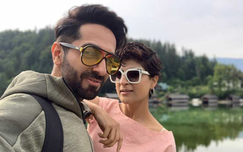 Ahead Of Dream Girl's Release Ayushmann Khurrana Spends Quality Time With Wife Tahira Kashyap In Austria