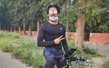 Ayushmann Khurrana Takes Up Cycling In Chandigarh To Stay Fit; 'Have Been A Cycling Enthusiast All My Life'