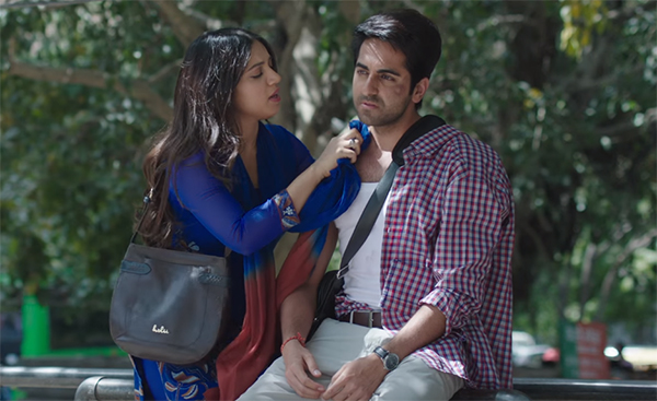 ayushmann khurrana and bhumi pednekar in Kanha