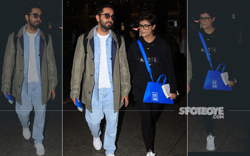 Ayushmann Khurrana and Tahira Kashyap Back In The Bay After a Romantic Austrian Getaway