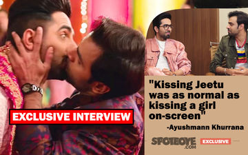 Ayushmann Khurrana-Jeetu's Homosexuality And Kissing Talk: Shubh Mangal Zyada Saavdhan INTERVIEW