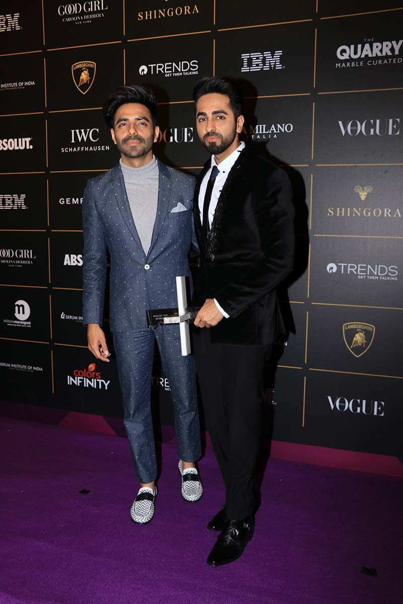 ayushmann khurrana vogue beauty awards