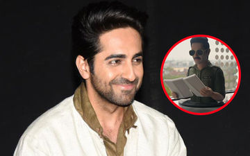 Ayushmann Khurrana Wraps Up Article 15; Receives His 3D Miniature Model As A Gift