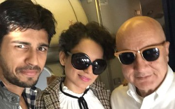 Anupam Kher has an 'Oops' moment