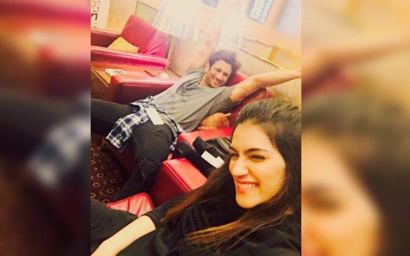 Kriti heads to Mauritius with Sushant on her birthday