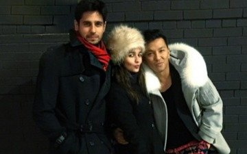 Sidharth-Alia spending quality time in NYC