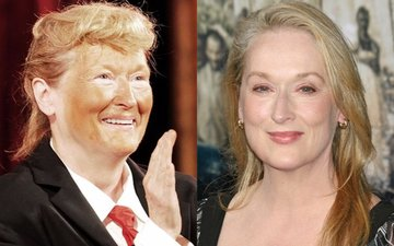 Hilarious: Meryl Streep impersonates Donald Trump