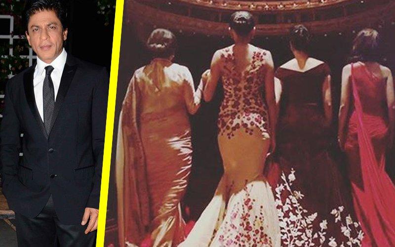 IN PICS: Sridevi, Madhuri, Deepika, Sharmila Join Shah Rukh For A Commercial