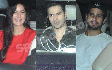 Katrina, Varun, Sidharth attend Salman's Sultan screening