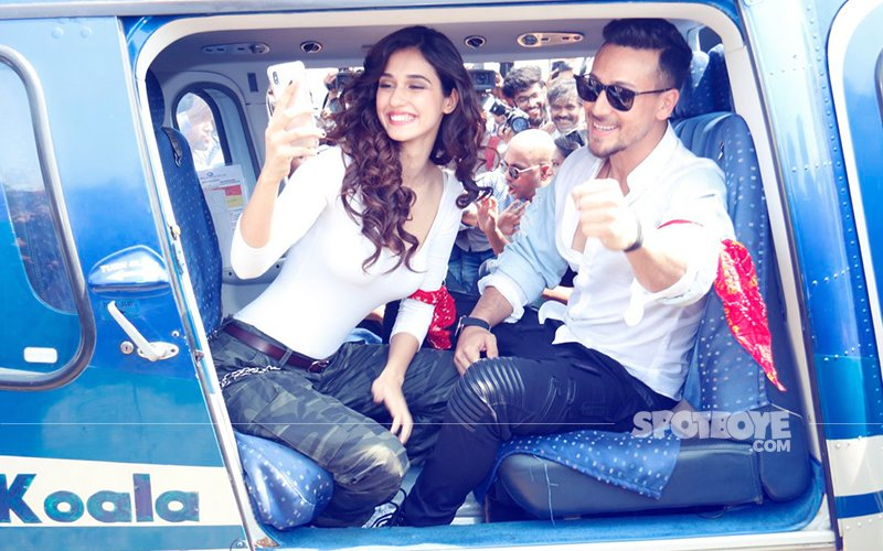 ZARA HAT KE, ZARA BACH KE: 11 Pics From Baaghis Tiger & Disha's HELICOPTER RIDE