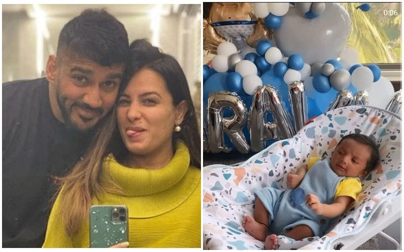 Anita Hassanandani- Rohit Reddy Celebrate As Their Baby Boy Aaravv Turns 1 Month Old; Couple Gives A Sneak-Peek Into The 'Pawri'- WATCH