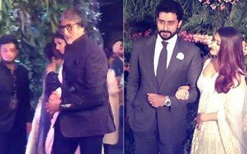 VIRAT-ANUSHKA MUMBAI RECEPTION: Amitabh Bachchan, Aishwarya, Abhishek Grace The Occasion