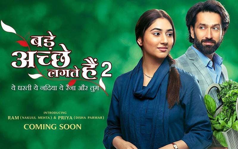 Bade Acche Lagte Hain 2 Poster Out: Lead Disha Parmar Hopes Audience Loves The Show; Nakuul Mehta Is Taking It As A Unique Challenge