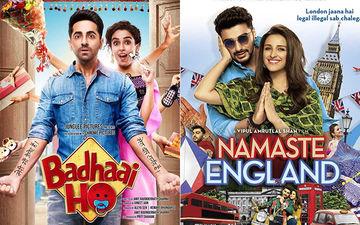 Badhaai Ho, Namaste England Box-Office Collection: Ayushmann & Sanya's Family Drama Accelerates On Day 2; Arjun & Parineeti's Love Story Gets A Lazy Start
