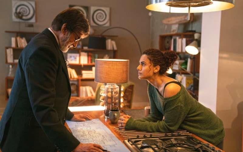 अमिताभ बच्चन और तापसी पन्नू की फिल्म बदला का पहला गाना 'क्यों रब्बा' आपके दिल को छू जायेगा