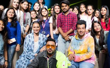 Khandaani Shafakhana Stars Sonakshi Sinha, Varun Sharma, Badshah Have Sex Education Chat With Fashion Students