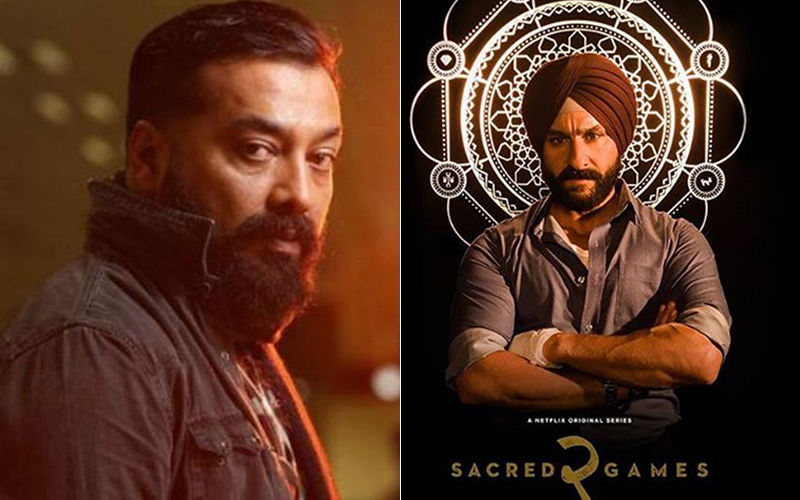 Sacred Games 2: BJP Spokesperson Files Police Complaint  Against Anurag Kashyap For A Controversial Scene In The Series