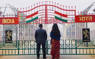 Bharat First Look: Salman Khan And Katrina Kaif Spread Patriotic Vibes