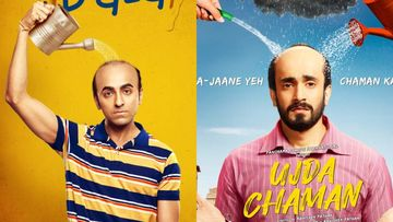Clash Of The Baldies: Makers Of Ayushmann Khurrana's Bala And Sunny Singh's Ujda Chaman Drop Ditto Posters; Coincidence Much?