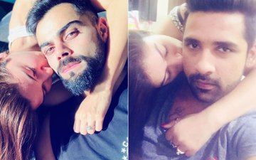 Bigg Boss 11 Couple Bandgi-Puneesh Get Trolled For Copying Anushka-Virat