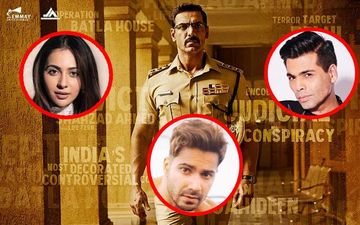 Batla House Trailer Celebs Reaction: Varun Dhawan, Karan Johar, Rakul Preet Singh Hail John Abraham's Starrer
