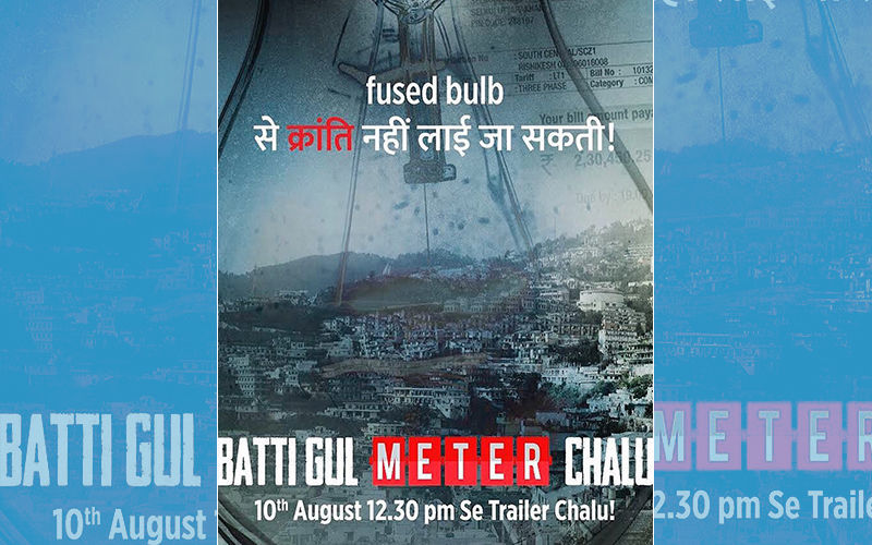 बत्ती गुल मीटर चालू पोस्टर: शाहिद कपूर, श्रद्धा कपूर और यामी गौतम की ये फिल्म है 'करंट, लाइट और शॉकिंग'